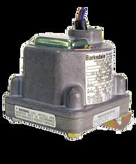 Barksdale Series D2H Diaphragm Pressure Switch, 15 PSI Decr, 10 PSI Decr Factory Preset, Housed, Dual Setpoint, 0.4 to 18 PSI, D2H-H18SS-S0030