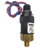 Barksdale Series 96221 Compact Pressure Switch, 1 to 30 In Hg Vacuum, 96221-BB1-T4-E