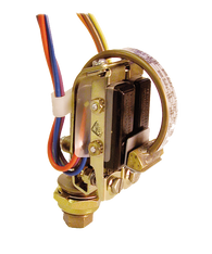 Barksdale Series B2S Bourdon Tube Pressure Switch, Stripped, Dual Setpoint, 50 to 1200 PSI, B2S-GH12SS