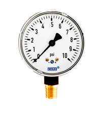 WIKA Type 611.10 Low Pressure Gauge 0-10 PSI 4204212