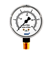 WIKA Type 611.10 Low Pressure Gauge 0-15IWP 9851682