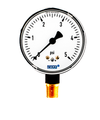 WIKA Type 611.10 Low Pressure Gauge 0-5 PSI 9851933