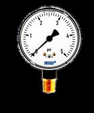 WIKA Type 611.10 Low Pressure Gauge 0-5 PSI 9851933