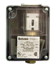 Barksdale Series 9617 Sealed Piston Pressure Switch, Housed, Single Setpoint, 450 to 7500 PSI, 9617-6SS-Z12