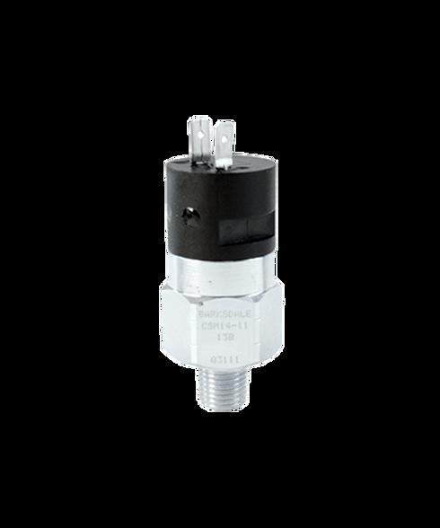 Barksdale Series CSM Compact Pressure Switch, Single Setpoint, 3000 PSI Rising Factory Preset CSM2-11-13B-3000R