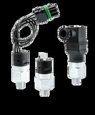 Barksdale Series CSM Compact Pressure Switch, Single Setpoint, 60 Bar Rising Factory Preset CSM2-31-45B-60BR