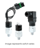 Barksdale Series CSM Compact Pressure Switch, Single Setpoint, 65 Bar Rising Factory Preset CSM2-31-55B-65BR