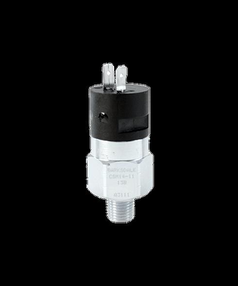 Barksdale Series CSM Compact Pressure Switch, Single Setpoint, 220 PSI Falling Factory Preset CSM2-32-23B-220F