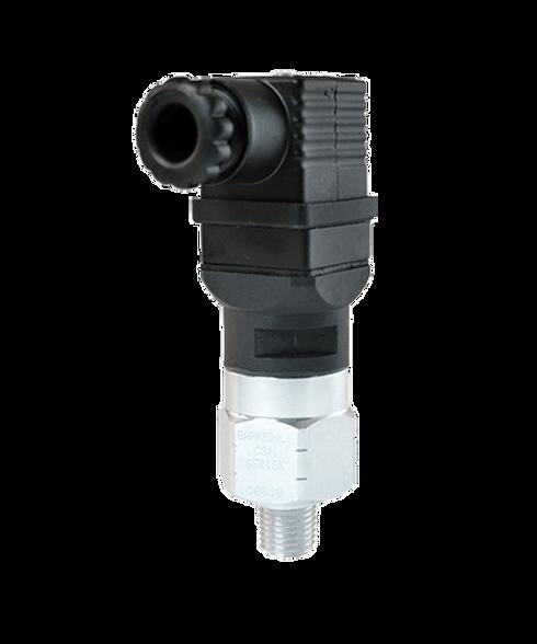 Barksdale Series CSM Compact Pressure Switch, Single Setpoint, 30 PSI Rising Factory Preset CSM2-33-12B-30R