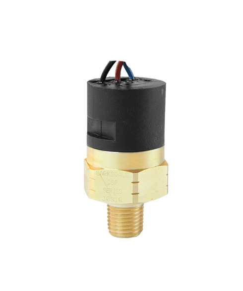 Barksdale Series CSP Compact Pressure Switch, Single Setpoint, 5 to 30 PSI, CSP12-13-11V