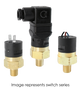 Barksdale Series CSP Compact Pressure Switch, Single Setpoint, 60 PSI Rising Factory Preset CSP2-13-14B-60R
