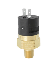Barksdale Series CSP Compact Pressure Switch, Single Setpoint, 60 PSI Rising Factory Preset CSP2-21-23B-60R