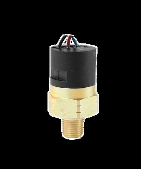Barksdale Series CSP Compact Pressure Switch, Single Setpoint, 80 PSI Rising Factory Preset CSP2-33-11B-80R