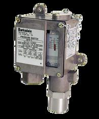 Barksdale Series 9675 Sealed Piston Pressure Switch, Housed, Single Setpoint, 100 to 1500 PSI, DA9675-2-AA-V