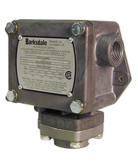Barksdale Series P1X Explosion Proof Dia-seal Piston, Single Setpoint, 0.5 to 30 PSI, HP1X-CC30SS-T