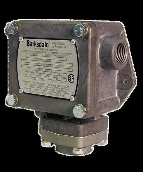 Barksdale Series P1X Explosion Proof Dia-seal Piston, Single Setpoint, 0.5 to 30 PSI, P1X-K30SS-T