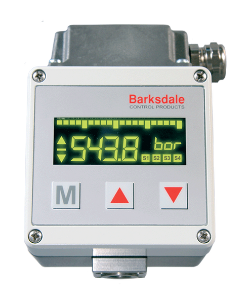 Barksdale Series UDS3 Multiple Output Electronic Switch, Single Setpoint, 0 to 9000 PSI, UDS3-32-G-4