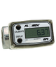 """GPI Flomec 1"""" NPTF Low Flow Aluminum Turbine Meter With Local Display, 0.3 to 3 GPM, A109GMA025NA1"""