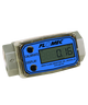 """GPI Flomec 1/2"""" NPTF Aluminum Turbine Meter With Local Display, 1 to 10 GPM, G2A05N09GMA"""