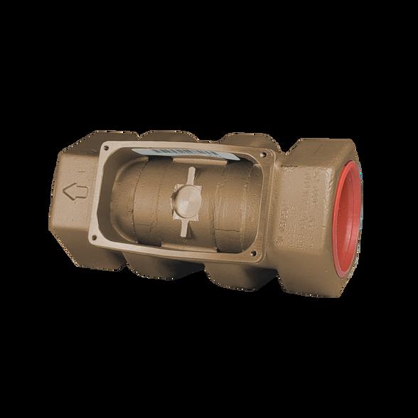 """GPI Flomec 1 1/2"""" ISOF Brass Industrial Flow Meter, 10-100 GPM, G2B15IXXXXB"""