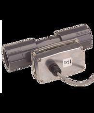 """GPI Flomec 1"""" NPTF PVC Pulse Water Meter, 5 to 50 GPM, TM100-N-P"""