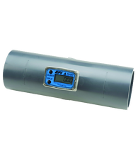 """GPI Flomec 3"""" PVC Spigot Water Meter With Local Display, 40 to 400 GPM, TM300"""