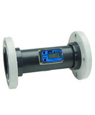 """GPI Flomec 3"""" PVC Flange Water Meter With Local Display, 40 to 400 GPM, TM300-F"""