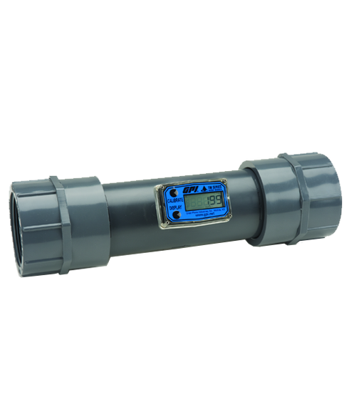 """GPI Flomec 3"""" NPTF PVC Water Meter With Local Display, 40 to 400 GPM, TM300-N"""