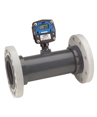 "GPI Flomec 4"" 150# ANSI Flange Pulse Output With Display Water Meter, 60-600 GPM, TM400FGG"