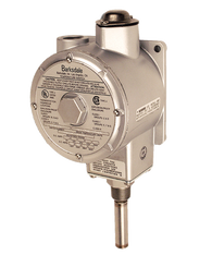 Barksdale L1X Series Explosion Proof Temperature Switch, Single Setpoint, 100 F to 225 F, HL1X-HH351S-WS