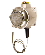 Barksdale T2X Series Explosion Proof Temperature Switch, Dual Setpoint, 50 F to 250 F, HT2X-HH251S-12A