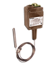 Barksdale T2H Series Remote Mount Temperature Switch, Dual Setpoint, 150 F to 350 F, T2H-GH351S-25-A
