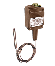 Barksdale T2H Series Remote Mount Temperature Switch, Dual Setpoint, -50 F to 150 F, T2H-L154S-12