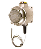 Barksdale T2X Series Explosion Proof Temperature Switch, Dual Setpoint, 50 F to 250 F, T2X-M251S-RD-EX