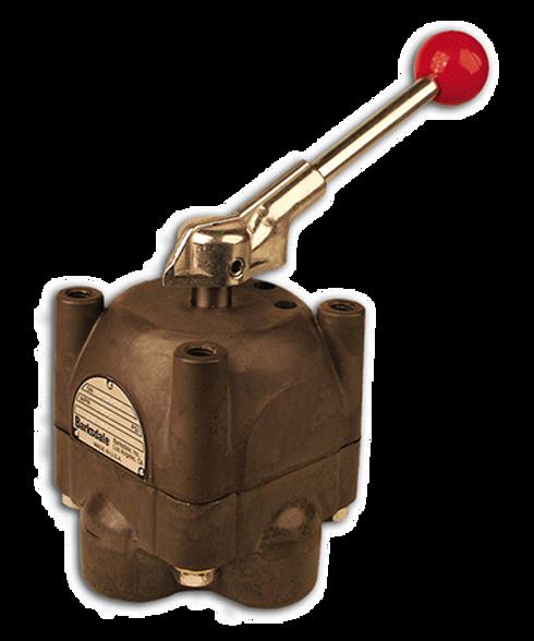 Barksdale Series 6900 High Pressure OEM Manipulator Valve 6904R3HC3-MC