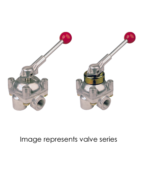 Barksdale Series 9000 Directional Control Valve 9002-MR-A-CD