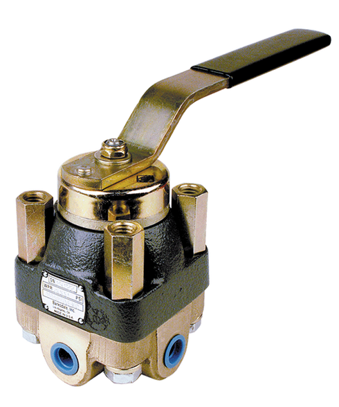 Barksdale Series 920 Heavy Duty Valve 921P3AQ3-MS