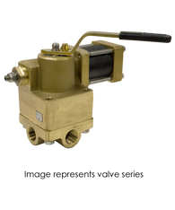 Barksdale Series 92 Actuated Heavy Duty Valve A925P3WQ2