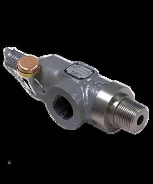 Barksdale Series 8010 Pressure Relief Valve, 4300 PSI Factory Setpoint, T8014-4-43