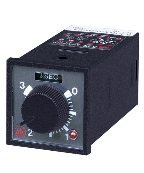 ATC 339B Series Plug-In Adjustable Time Delay Relay, 339B-200-T-2-X
