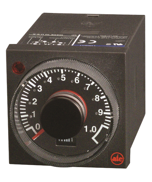 ATC 405C Adjustable 1/16 DIN Timer with Instantaneous Relay, 405C-100-F-1-X