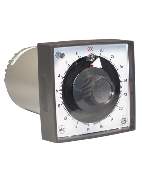 ATC 305E Series Motor-Driven 120 sec Analog Reset Timer, 305E-008-B-1-0-XX