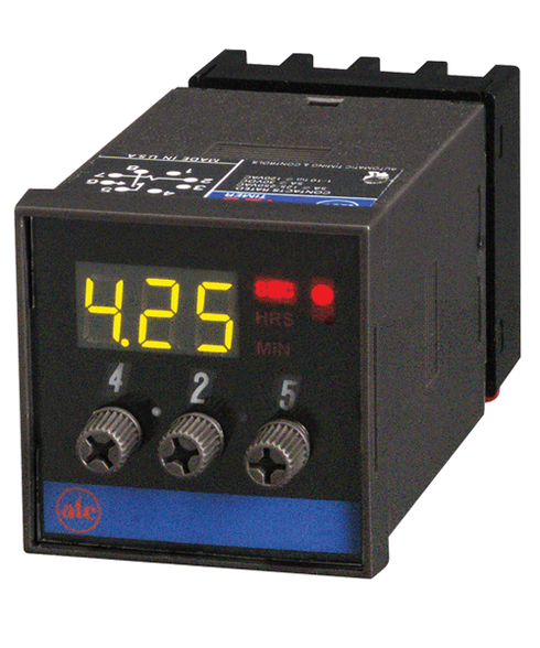 ATC 425A Adjustable 1/16 DIN LED Digital Display Timer, 425A-300-Q-10-M-D