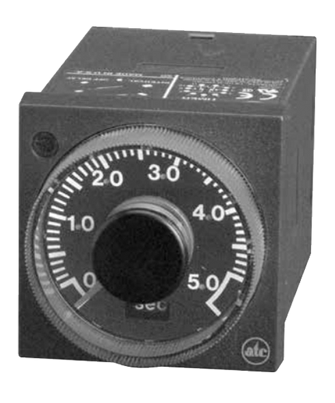 ATC 407C Series 1/16 DIN Adjustable Multimode Timer, 407C-100-E-3-X