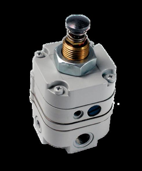 "Bellofram Type 10 PL Plunger Operated Precision Regulator, 3/8"" NPT, 2-25 PSI, 960-021-000"