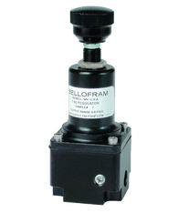 "Bellofram Type 92 Subminiature Air Regulator, 1/16"" NPT, 0-30 PSI, 960-542-000"