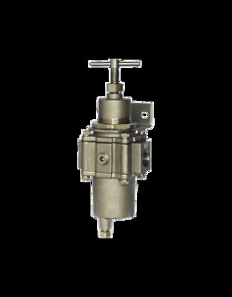 """Bellofram Type T-52SSFR Filter Regulator, 1/4"""" NPT, 12-125 PSI, 960-582-000"""