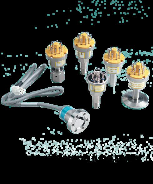 Teledyne Hastings Vacuum Gauge Tube, 0 to 1000 mTorr, DV-6S-KF-16