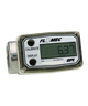 """GPI Flomec 1"""" BSPTF Low Flow Aluminum Commercial Grade Electronic Digital Meter, 0.3-3 GPM, A109GMA025BA1"""