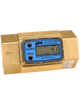 "GPI Flomec 1"" NPTF Brass Industrial Flow Meter, 5-50 GPM, G2B10N43GMC"